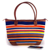 Mariana Bag in Syracuse Navy and Orange