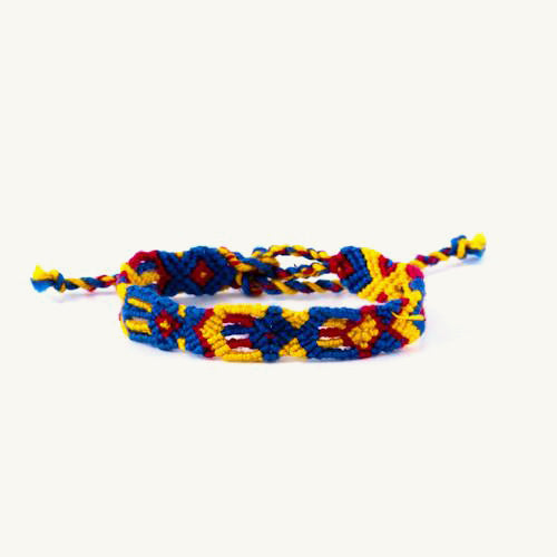 traditional guatemalan friendship bracelet