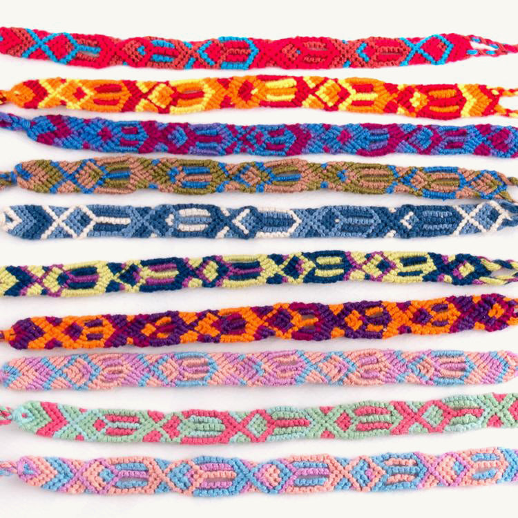 traditional handwoven friendship bracelets