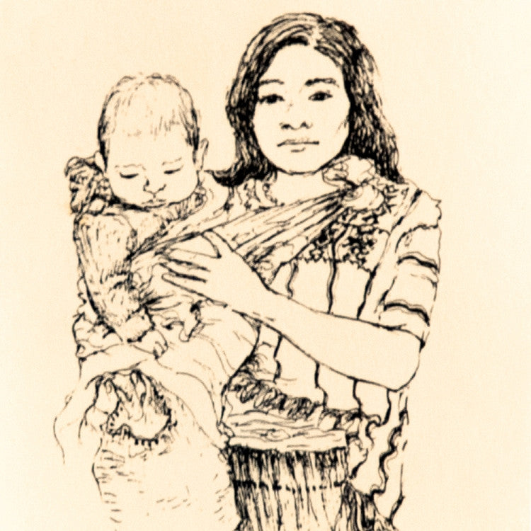 maya-woman-with-baby-notecard