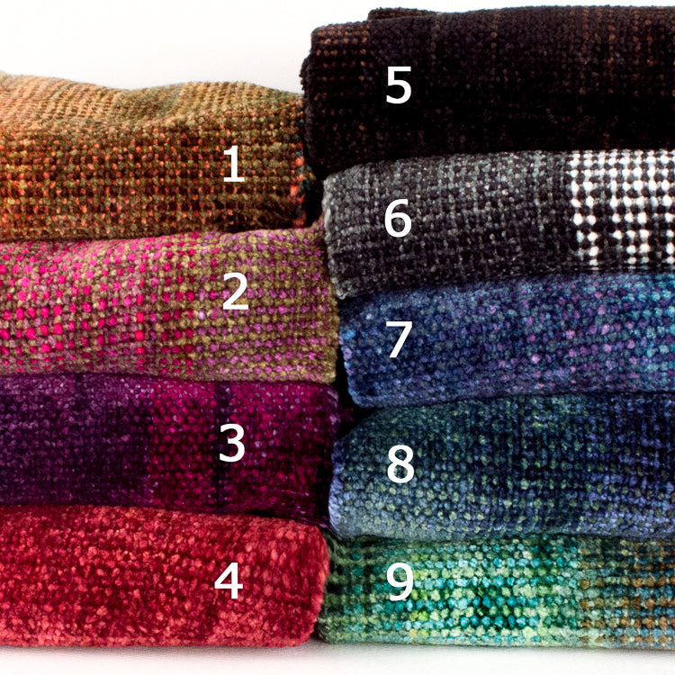 assorted space dyed chenille scarf