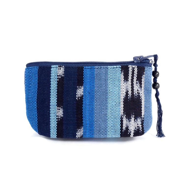 indigo jaspe coin purse