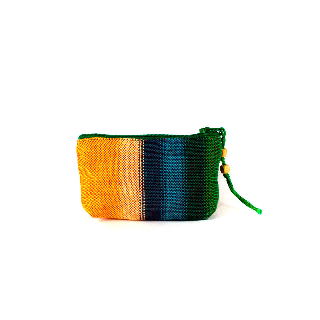 handwoven change purse