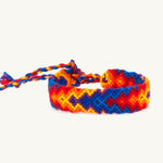 orange and blue arrow bracelet