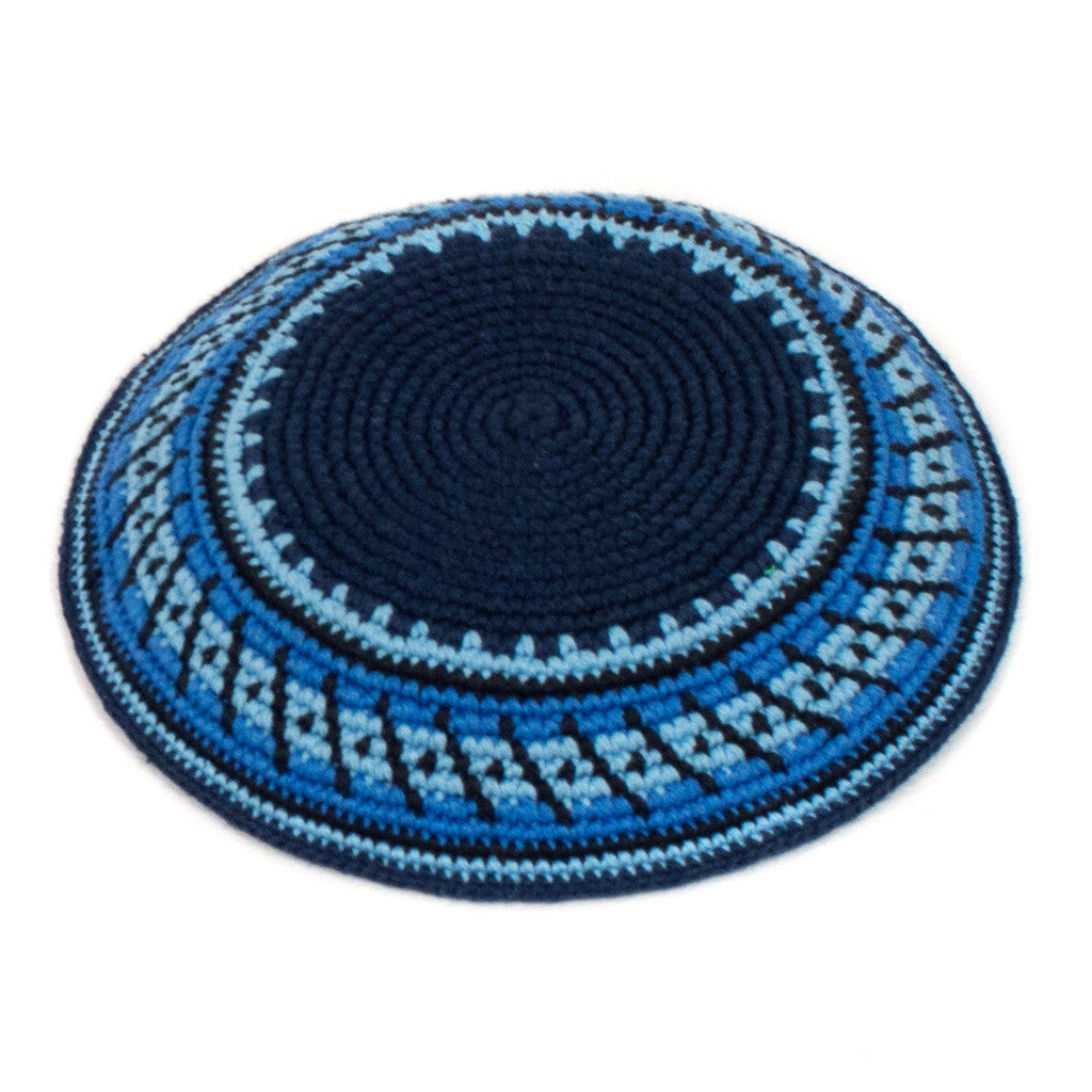 fair trade kippah navy