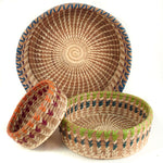 Marisol Pine Needle Basket - 3 sizes | Mayan Hands