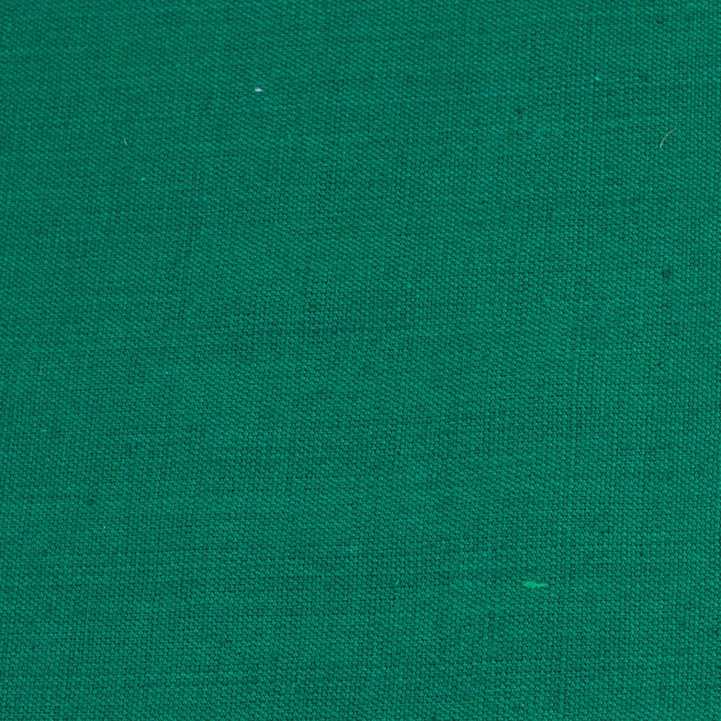 dark Christmas green handwoven napkin with fringe detail