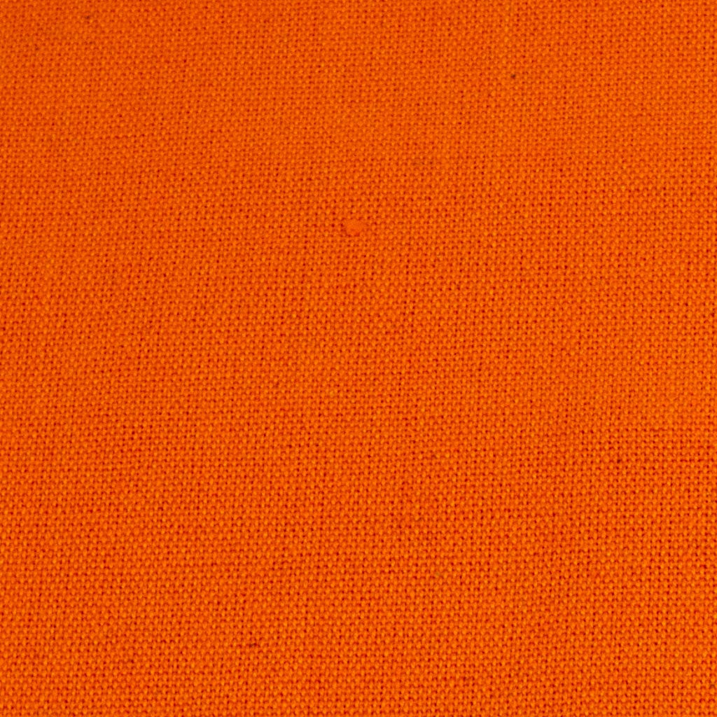 orange handwoven napkin detail