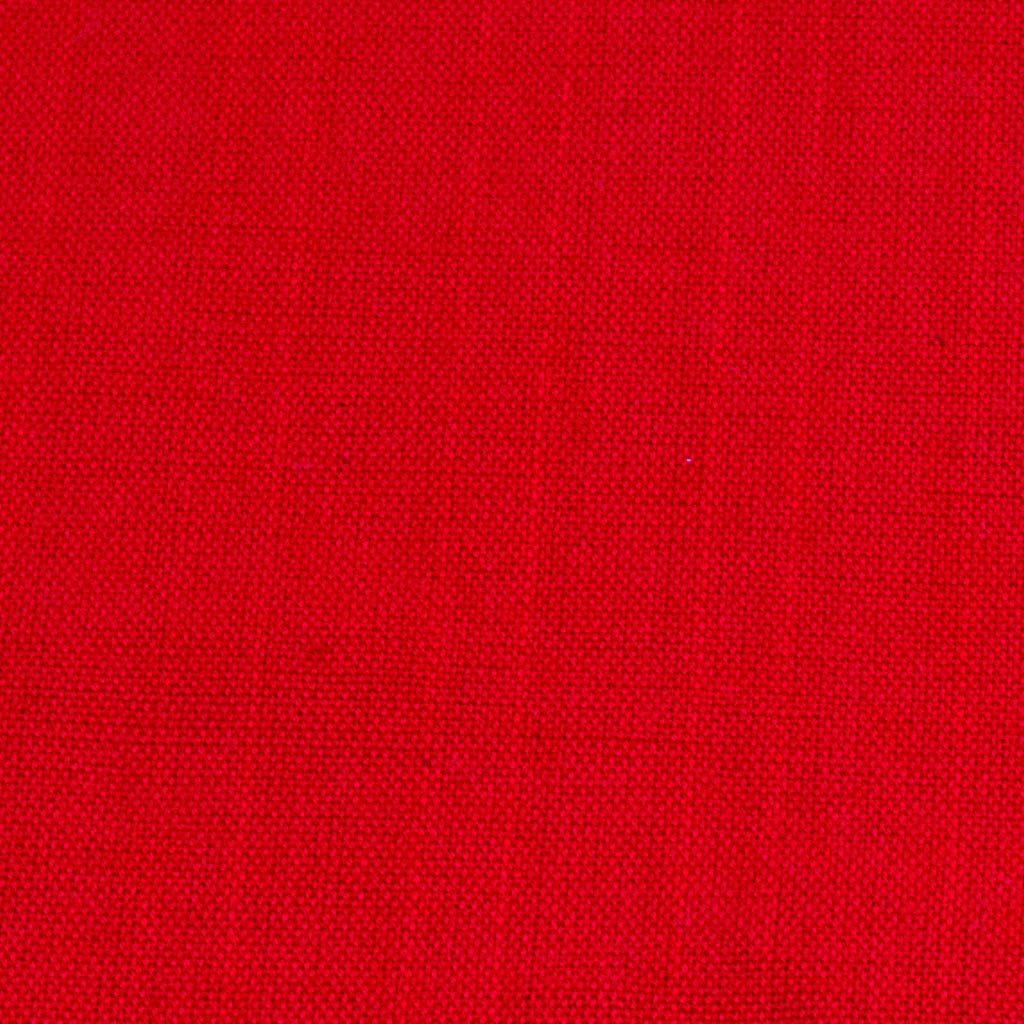 red handwoven napkin detail