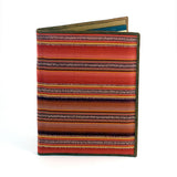 Colorful Notebook Portfolio in brown