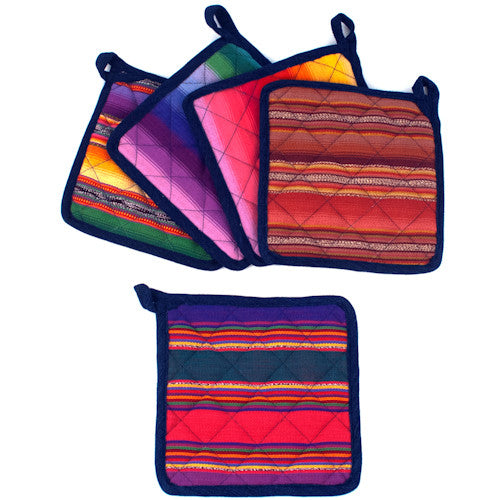 Colorful Potholder Assortment