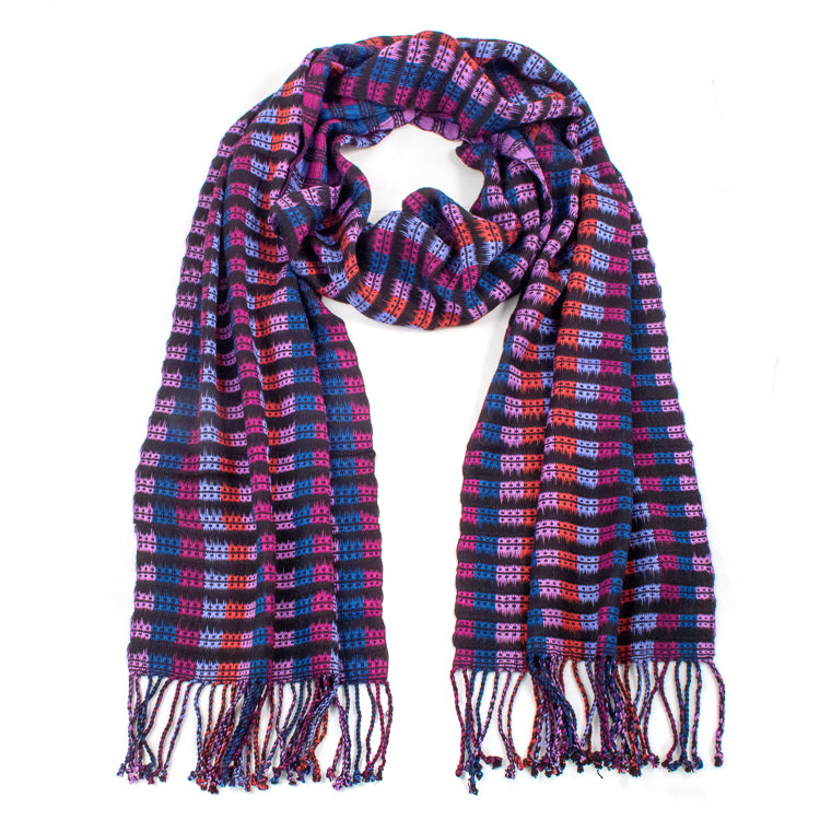 rayon mulit-color scarf
