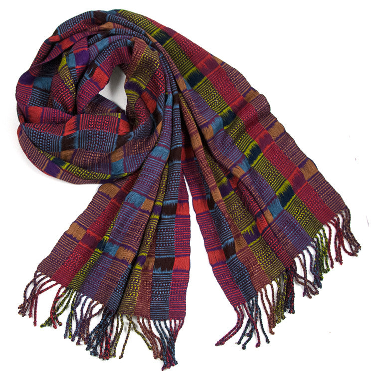 Angelina Scarf multi-color alternat view
