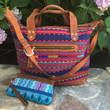Handwoven Traveler Bag and Clutch