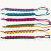 Friendship Bracelets wave design assorted colors