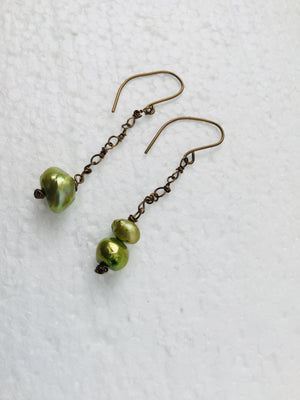 Mistake Dangle Earrings