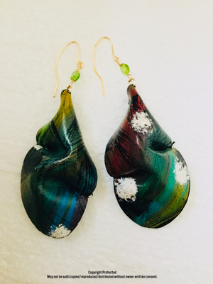 Prairie Butterfly Leather™ Baggy Earrings