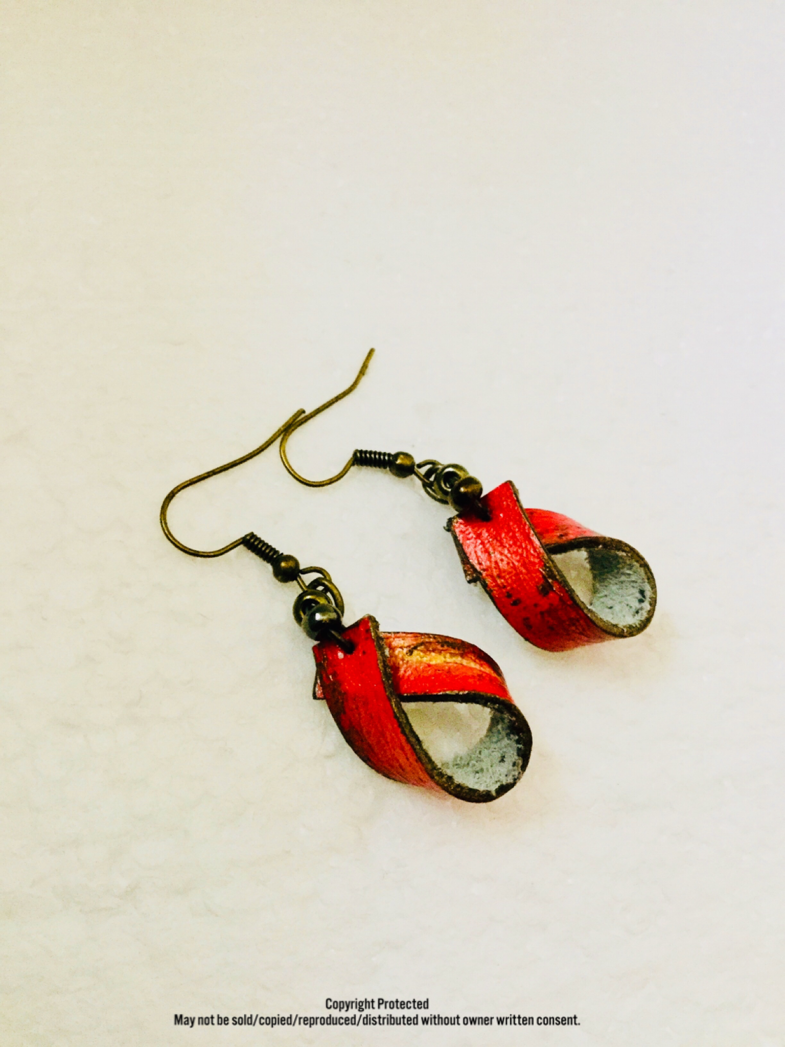 Rustic Butterfly Leather™ Together Earrings