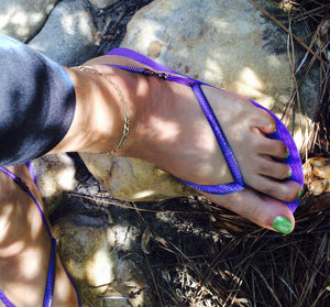 Purplicious Half Sandal Harness™ Set