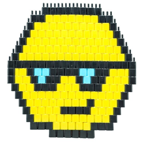 Pinblock_Pixelart_Creative_Building_Toy_emoji