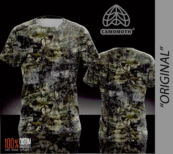 Men's Camomoth® Short Sleeve T-Shirt in Original Camomoth® Green