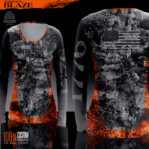 6. Ladies Camomoth® Blaze Shirt