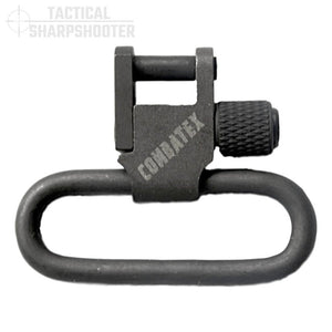 "1.25"" Parkerized Rifle Sling Swivel Set-Swivels-Tactical Sharpshooter"