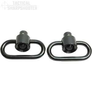"1.5"" Recessed Push Button Swivel Set (1-Pair)-Swivels-Tactical Sharpshooter"