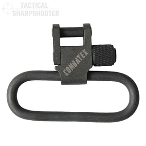 "1.50"" Parkerized Rifle Sling Swivel Set-Swivels-Tactical Sharpshooter"
