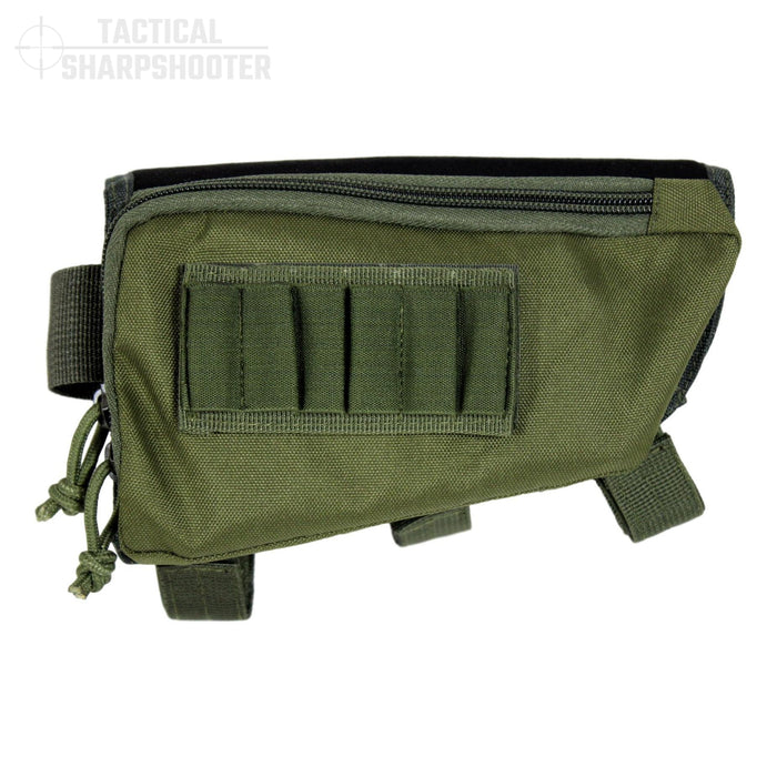 Sniper Stockpack - Green - Synthetic Suede Cheeckpad