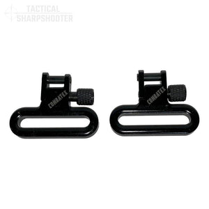 "1.25"" Solid Cast Molded Sling Swivels-Swivels-Tactical Sharpshooter"