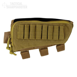 HUNTER STOCKPACK - COYOTE-Stock Packs-Tactical Sharpshooter