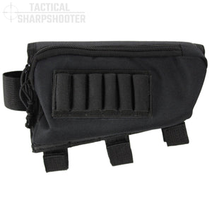 Rifle Stock Pack- Black-Stock Packs-Tactical Sharpshooter