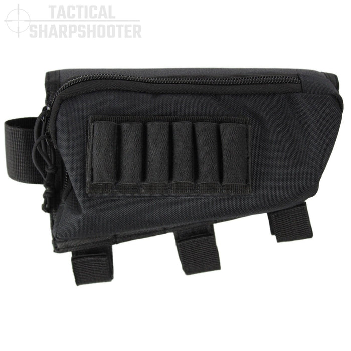 Rifle Stock Pack- Black