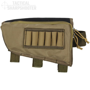 SNIPER STOCKPACK - TAN - LEFT HAND-Stock Packs-Tactical Sharpshooter
