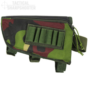 SNIPER STOCKPACK - WOODLAND CAMO - LEFT HAND-Stock Packs-Tactical Sharpshooter