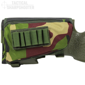 SNIPER STOCKPACK - WOODLAND CAMO-Stock Packs-Tactical Sharpshooter