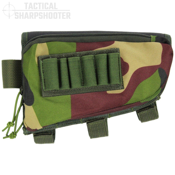SNIPER STOCKPACK - WOODLAND CAMO