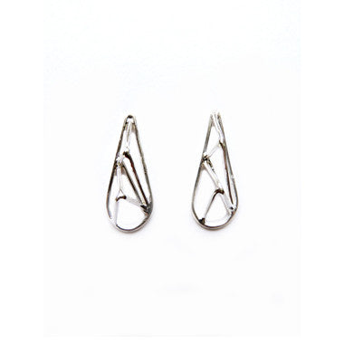 Crystallized Teardrop Studs