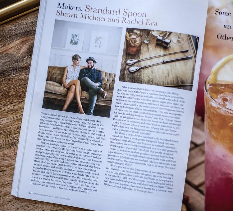 Imbibe Magazine Feature: Standard Spoon