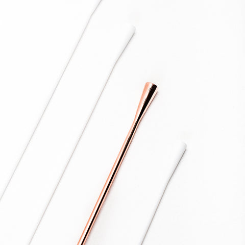 Copper barspoon Aero Cocktail Spoon by Standard Spoon Barware