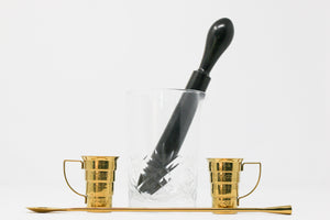 The Essential Cocktail Kit with Ebony Muddler