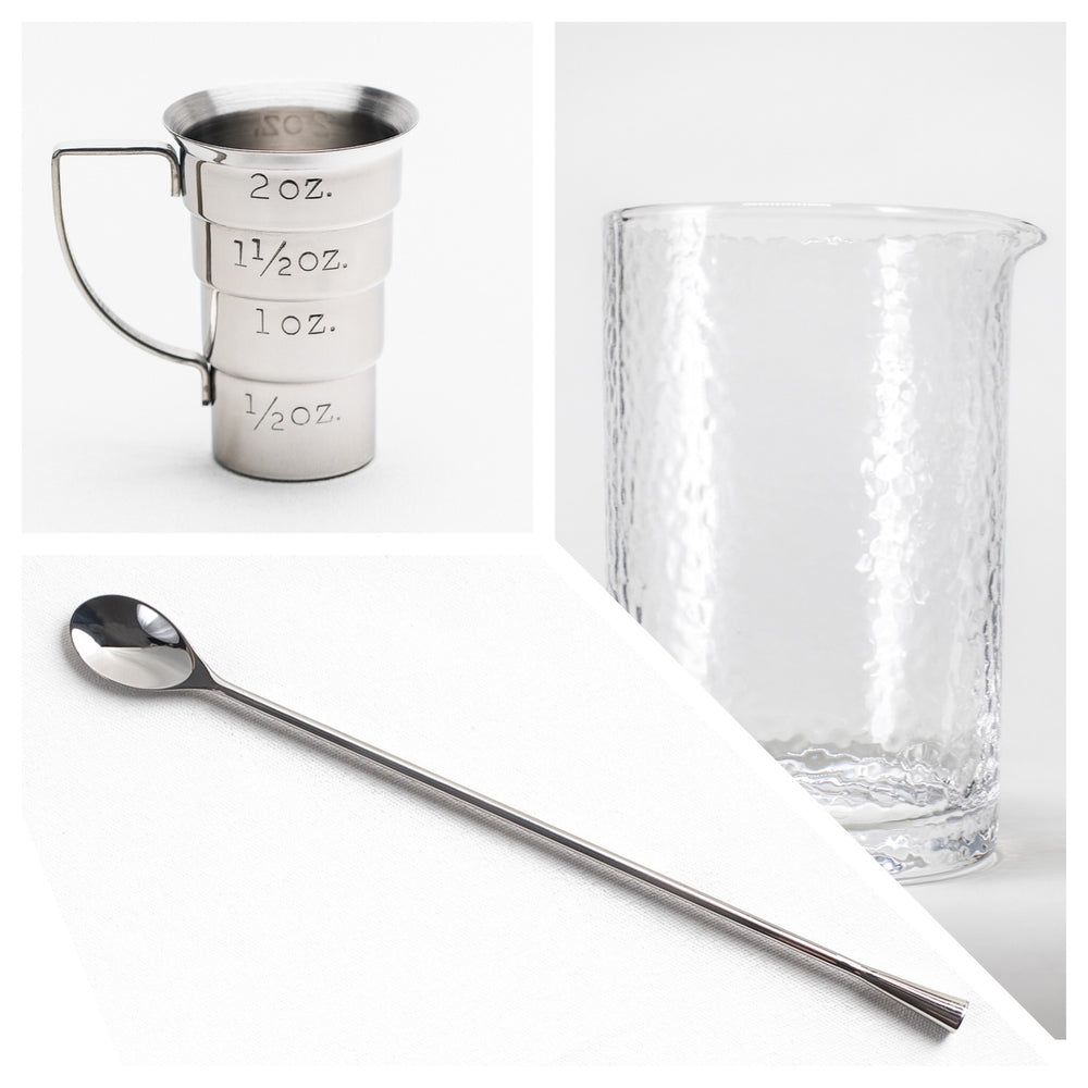 Stirred Cocktail Kit - Stainless