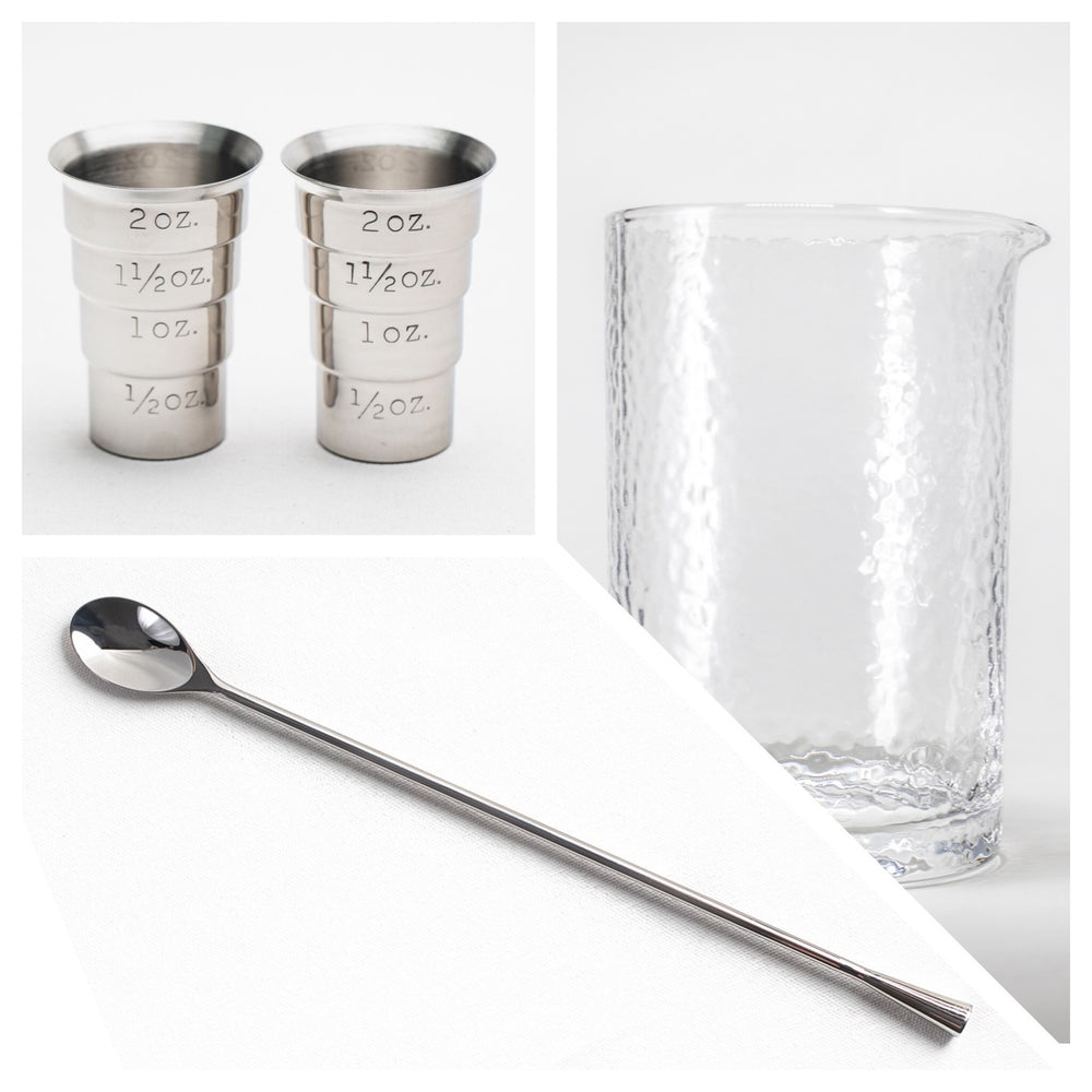 Stirred Industry Cocktail Kit - Stainless