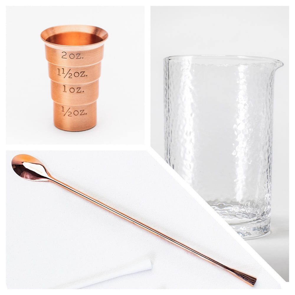 Stirred Industry Cocktail Kit - Copper