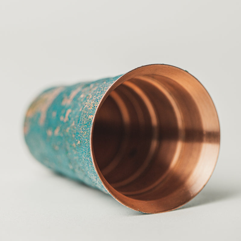 LIMITED EDITION - Copper Patina Jigger