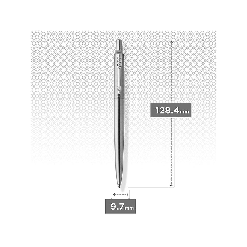 Parker Jotter Stainless Steel Ballpoint Pen with Notepad