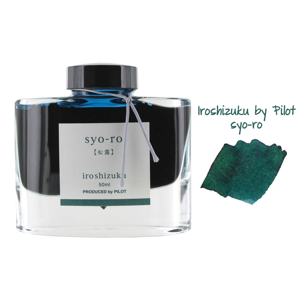 Pilot Iroshizuku Bottled Fountain Pen Ink, 50ml - Syo-Ro