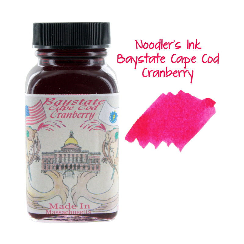 Noodler's Ink Fountain Pen Bottled Ink, 3oz - Baystate Cape Cod Cranberry