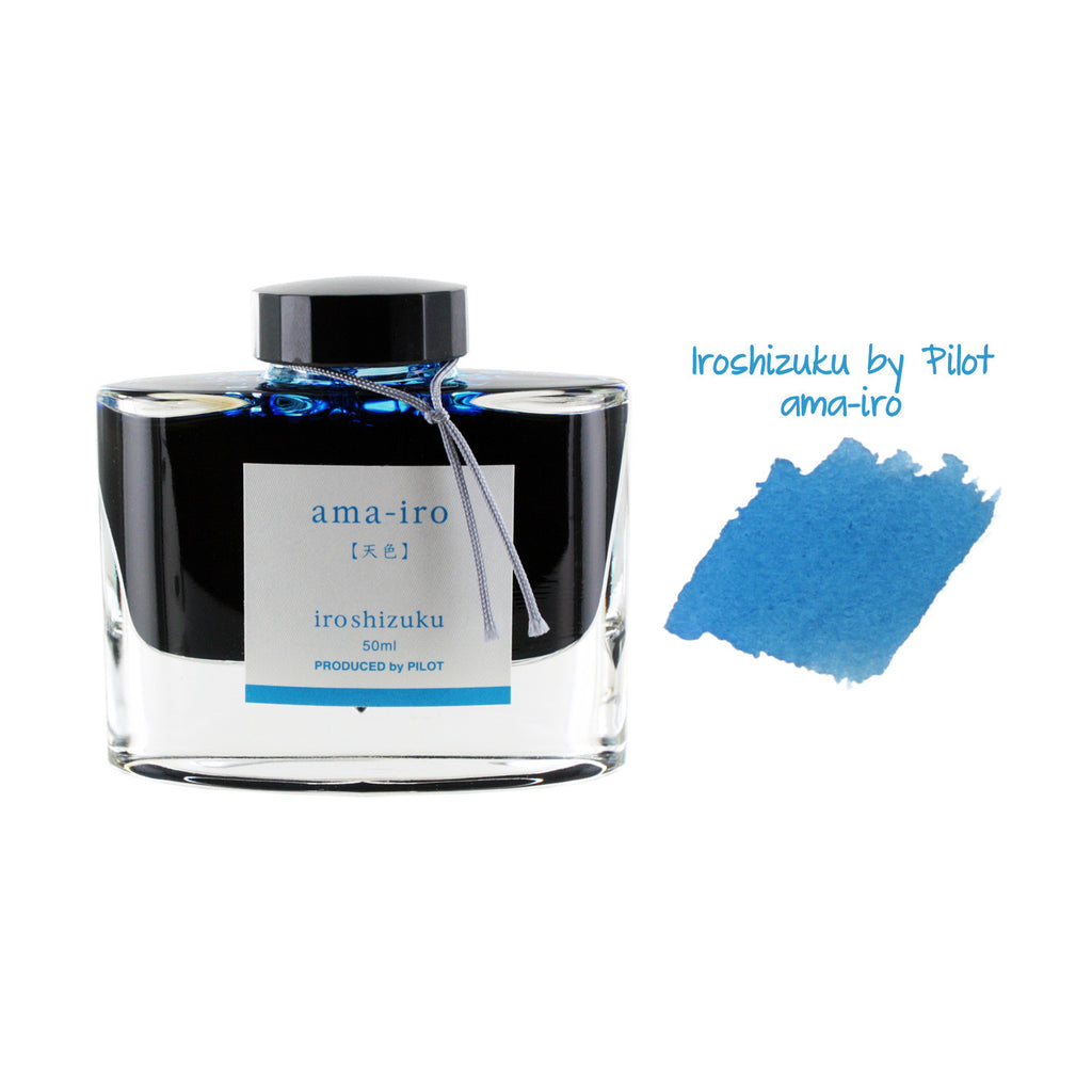 Pilot Iroshizuku Bottled Fountain Pen Ink, 50ml - Ama-Iro